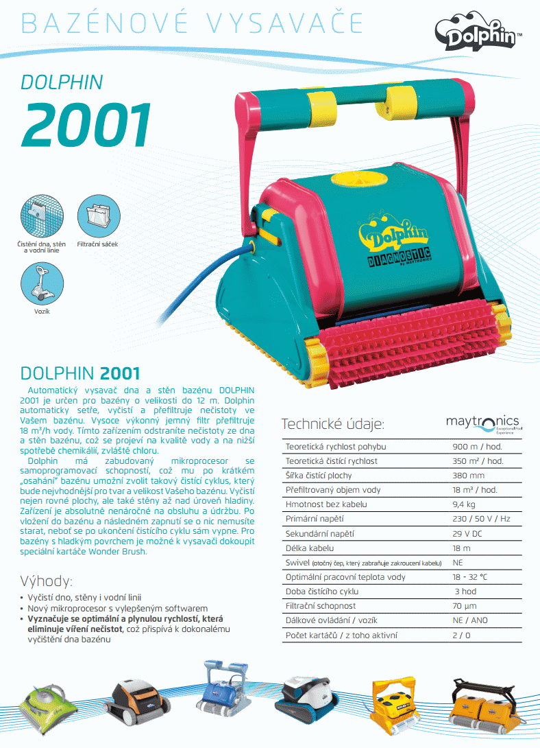 DOLPHIN 2001