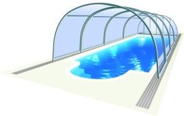Vysoká zastřešení bazénů