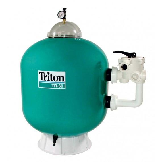 Filtrační nádoba TRITON - TR 60,610 mm,14 m3/h,6-ti cest boční ventil