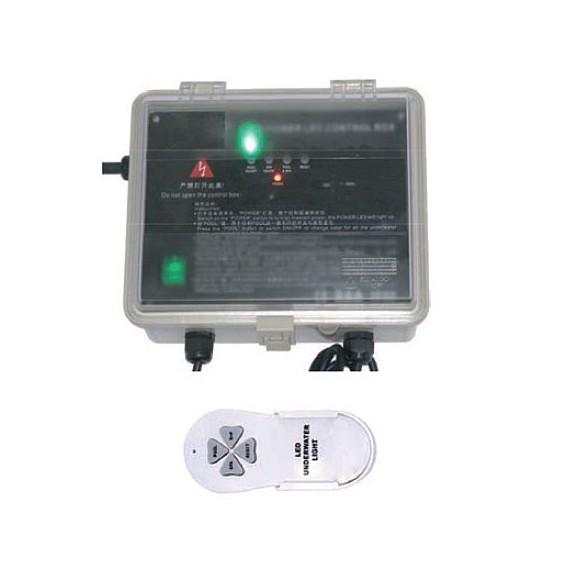 Kontrolní skříň světel s dálkovým ovladačem