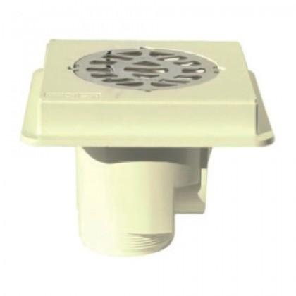 Podlahová výpusť ABS, nerez SS316, beton - MTS