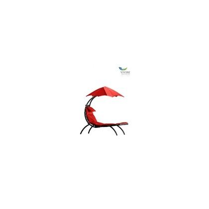 Vivere - Original Dream Lounger # Cherry Red