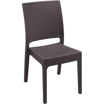 SIESTA EXCLUSIVE, Židle FLORIDA hnědá