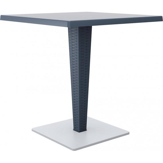 SIESTA EXCLUSIVE, Stůl RIVA šedý