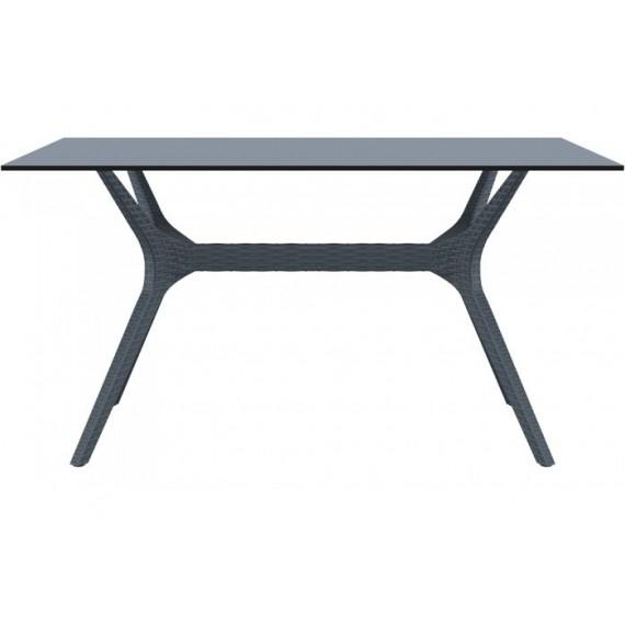 SIESTA EXCLUSIVE, Stůl IBIZA 140 šedý