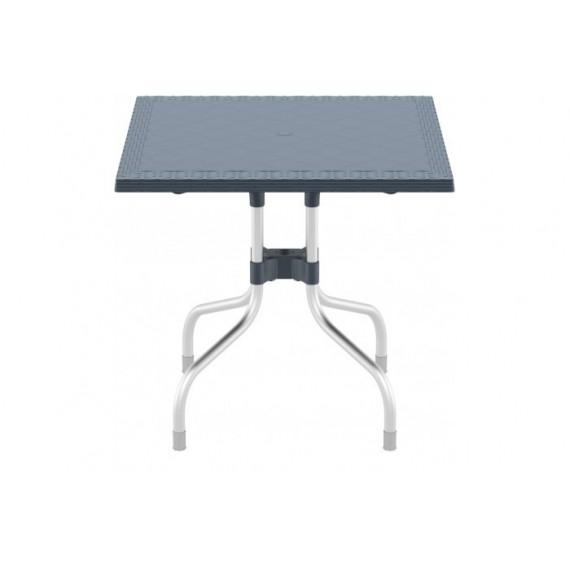 SIESTA EXCLUSIVE, Stůl FORZA 80 šedý