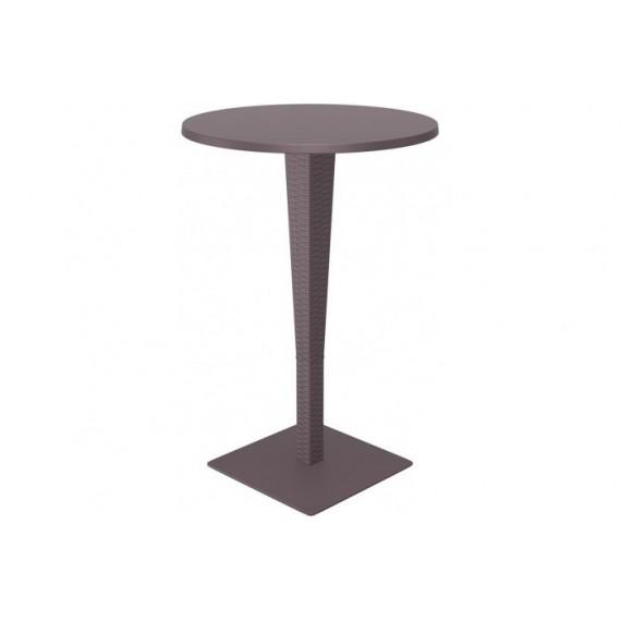 SIESTA EXCLUSIVE, Barový stůl RIVA hnědý