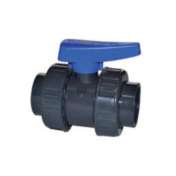 Ventil kulový dvojcestný lep/lep 50 mm - ITL