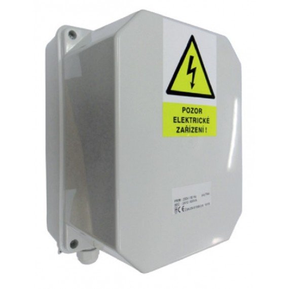 Transformátor bezpečností 300VA 230-12V-25A-IP65
