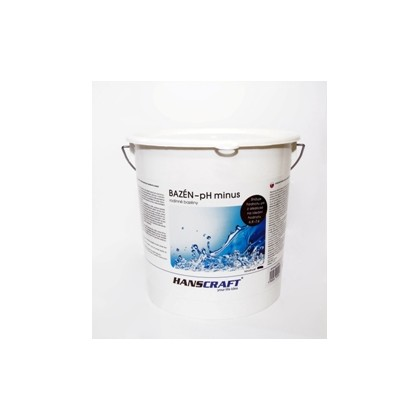 HANSCRAFT BAZÉN - pH minus - 4,5 kg