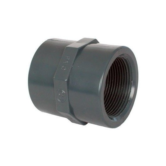 "PVC tvarovka - Mufna 3/8"" (vnitřní rozměr)"