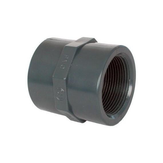 "PVC tvarovka - Mufna 1/2"" (vnitřní rozměr)"