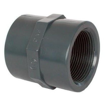 "PVC tvarovka - Mufna 40 x 1 1/4"""