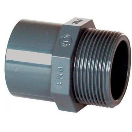 """PVC tvarovka - Přechodka 90--75 x 2 1/2"""" (vnější rozměr)"""