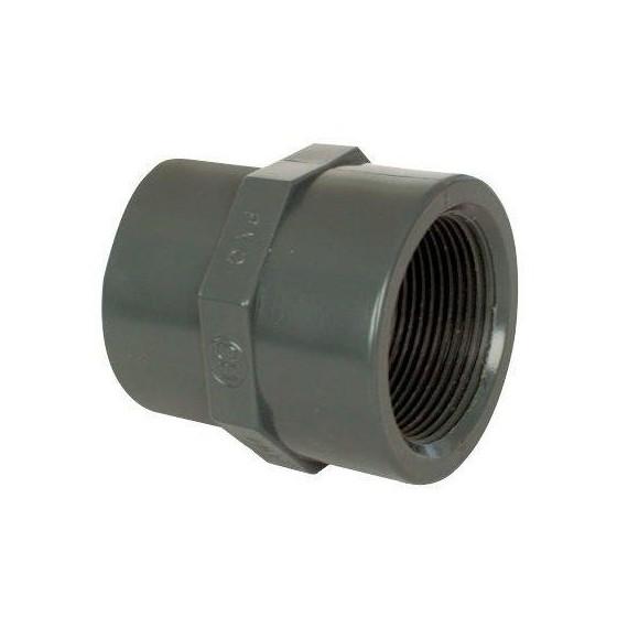 """PVC tvarovka - Mufna přechod red 75--63 x 2 1/2"""" (vnitřní rozměr)"""