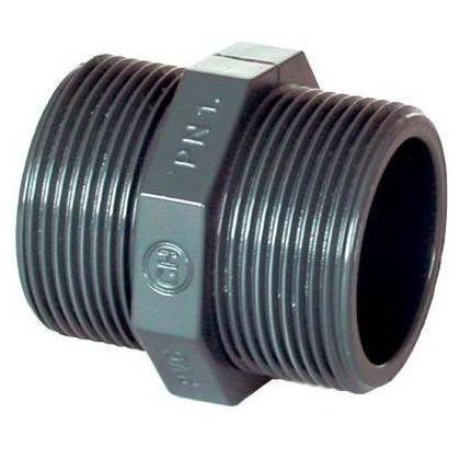 """PVC tvarovka - Dvojnipl 1 1/4"""" (vnější rozměr)"""