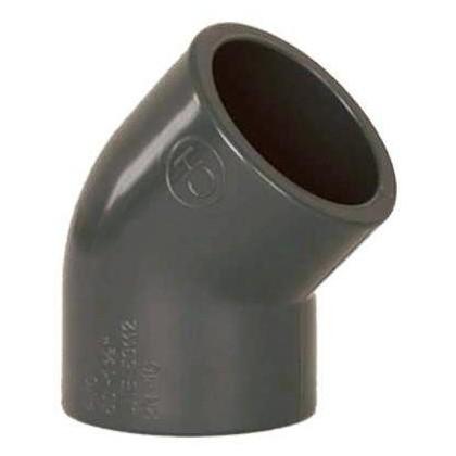 PVC tvarovka - Úhel 45° 50 mm