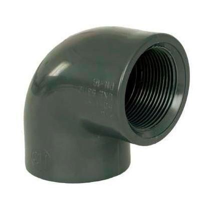 """PVC tvarovka - Úhel 90° 2"""" (vnitřní rozměr) x 2"""" (vnitřní rozměr)"""