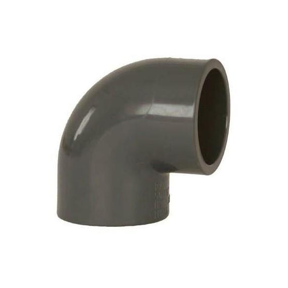 PVC tvarovka - Úhel 90° 63 mm