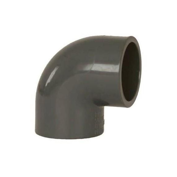 PVC tvarovka - Úhel 90° 90 mm