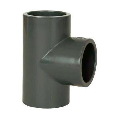 PVC tvarovka - T-kus 90° 63 mm