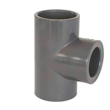 PVC tvarovka - T-kus 90° redukovaný 50 x 40 mm