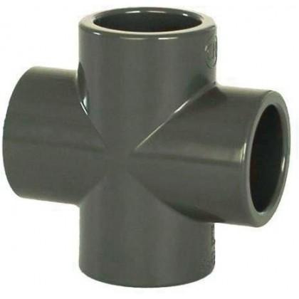 PVC tvarovka - Kříž 40 mm