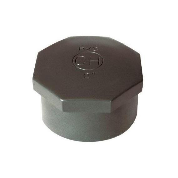 """PVC tvarovka - Zátka 1/2"""" (vnitřní rozměr)"""
