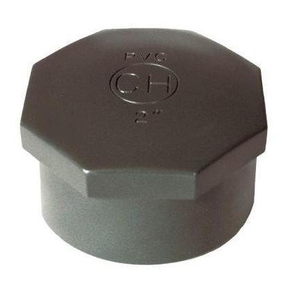 """PVC tvarovka - Zátka 1 1/2"""" int."""
