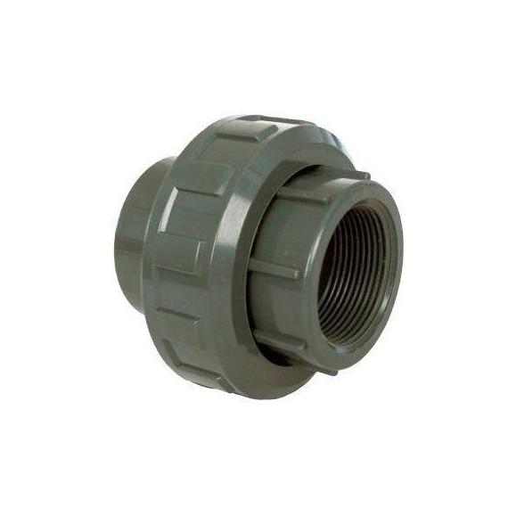 """PVC tvarovka - Šroubení 50 x 1 1/2"""" (vnitřní rozměr)"""