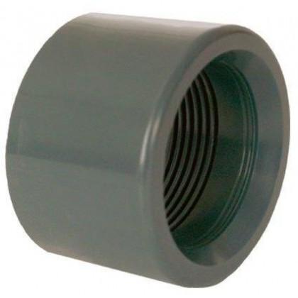 """PVC tvarovka - Redukce krátká vkládací se závitem 75 x 2"""" (vnitřní rozměr)"""