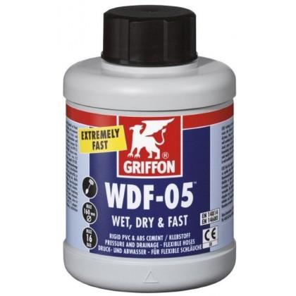 Griffon WDF05, PVC lepidlo 500 ml se štětcem pro flexi hadice