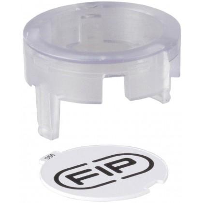 Průhledné víčko pro ventil Easyfit d 63 mm