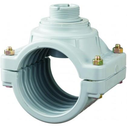 Měření průtoku - Sedlo navrtávací 50 mm pro senzor průtoku