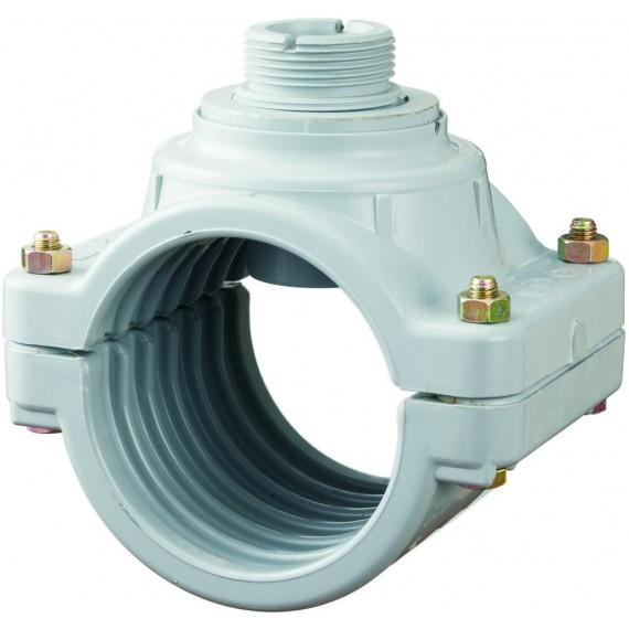 Digit průtokoměr - Sedlo navrtávací 140 mm pro senzor průtoku