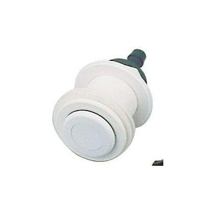 Pneumatické tlačítko, včetně průchodu stěnou -- pro předvyrobené bazény