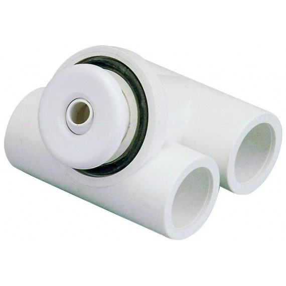 Hydromasážní tryska - Mikrotryska ABS (bílá), průměr  otvoru 12 mm
