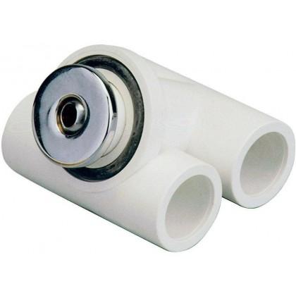Hydromasážní tryska - Mikrotryska ABS (chrom), průměr  otvoru 12 mm
