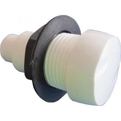 Vzduchový regulátor se zpětným ventilem (bílý)