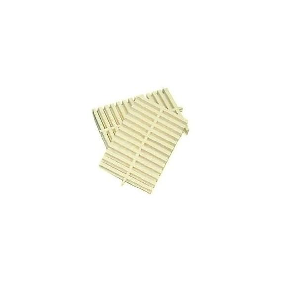 Roll rošt (béžový) -- šířka 196 mm, výška 35 mm
