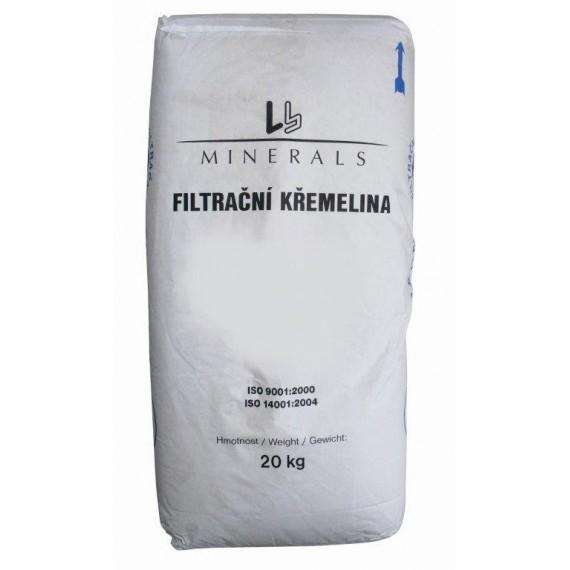 Filtrační křemelina do DE filtrů (20 kg)