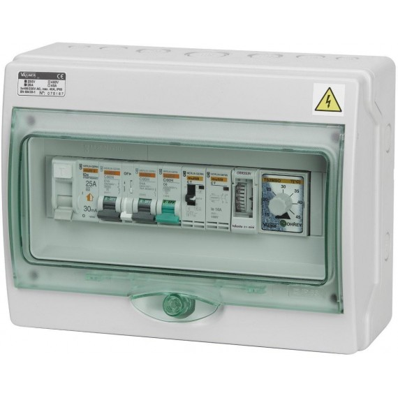 Automatické ovládání pro filtraci/světlo/protiproud - F1SP1