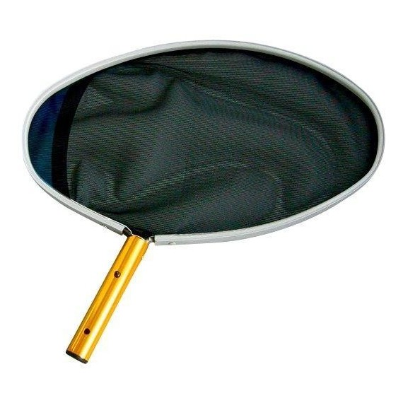 Síťka hladinová oválná excentrická s ALU rámem černá