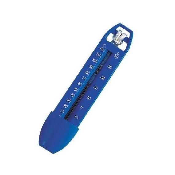 Teploměr modrý 18 cm neplovoucí