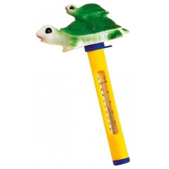 Teploměr plovoucí se zvířátky želva