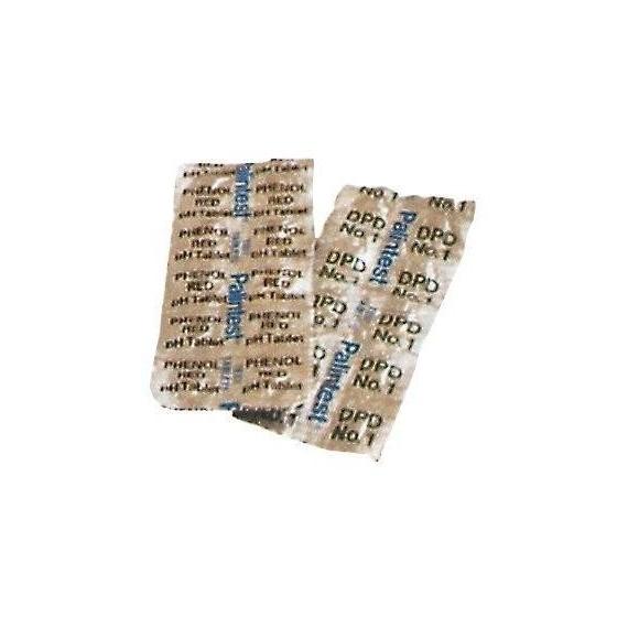 Test tablety DPD č. 1 Cl -- 10 ks (volný chlor)