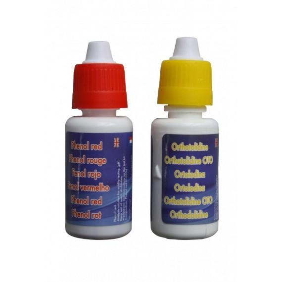 Testovací kapky Cl/pH set