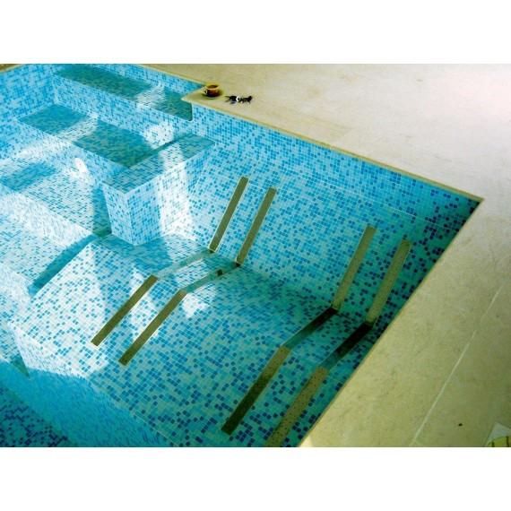 Hydromasážní lože do betonu, AISI 304