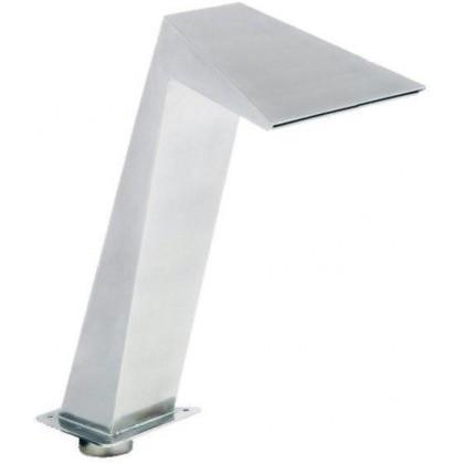 Chrlič - Kubista 370 mm, nerez AISI 316, připojení 75 mm, povrch matný