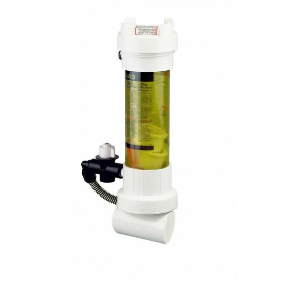 Dávkovač pev látek do potrubí - průhledný Rainbow 320-C, 2,2kg
